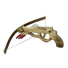 Деревянная игрушка для детей Арбалет