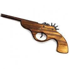 Детский деревянный пистолет игрушка