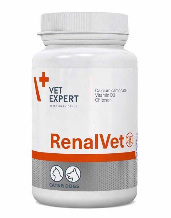 РЕНАЛВЕТ RENALVET VETEXPERT при заболеваниях почек у собак и кошек, 60 капсул