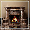 Портал CASTELLO, облицювання каміна натуральним каменем мармур: купити у виробника.