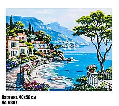 Картина по номерам Морской пейзаж