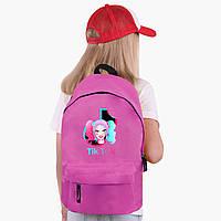 Детский рюкзак Харли Квинн (Куинн) Тик Ток (Harley Quinn TikTok) (9263-1646)