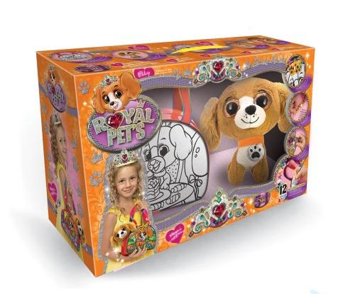 Набір для творчості «Royal pet s» сумочка з іграшкою RP-01-03U