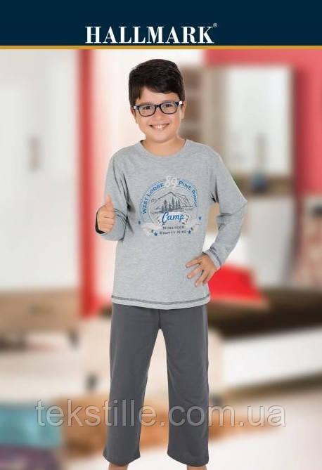 Пижама для мальчиков трикотажная  Hallmark 7-8лет