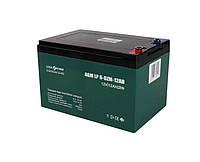 Тяговый аккумулятор LogicPower 12 Ач 12 V свинцово-кислотный LP 6-DZM-12 - под Болт М5