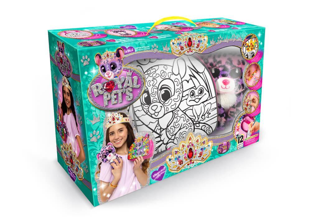 Набір для творчості «Royal pet s» сумочка з іграшкою RP-01-05