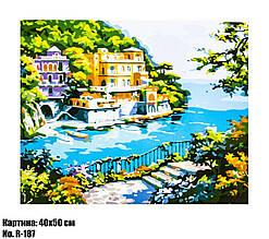 Картина по номерам Островная жизнь