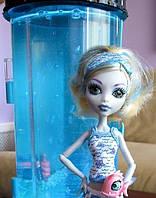 Кукла Monster High Лагуна Блю (Lagoona) с гидростанцией Пижамная вечеринка Монстер Хай Школа монстров