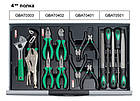 Тележка с набором инструментов для СТО TOPTUL (Pro-Line) 7 секций 229 ед. GCAJ0014, фото 5