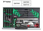 Тележка с набором инструментов для СТО TOPTUL (Pro-Line) 7 секций 229 ед. GCAJ0014, фото 6