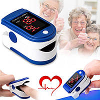 Пульсометр для измерения кислорода на палец медицинский JK 302 беспроводной пульсоксиметр Pulse Oximeter