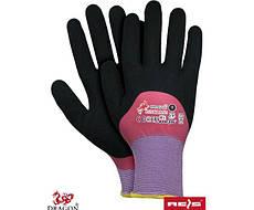 Защитные перчатки с покрытием  PINKROSE RB