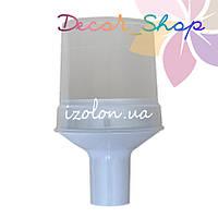 Комплект для изготовления декоративных цветов на трубу D20мм. Белый. ТМ Uniel