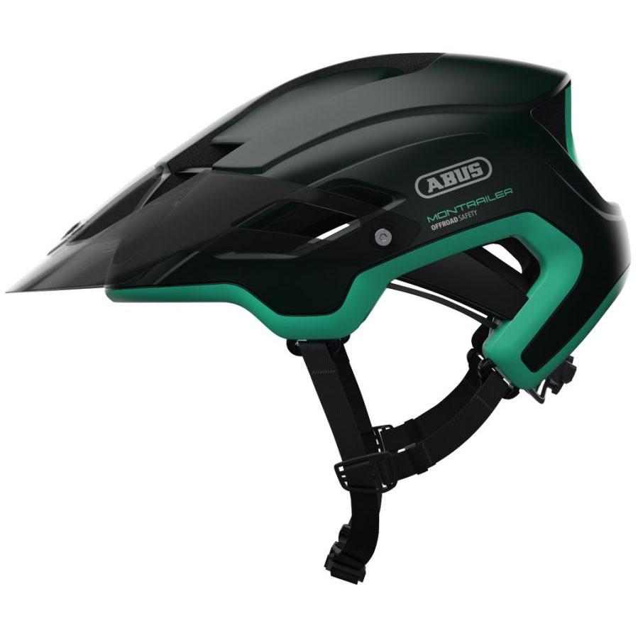 Шолом велосипедний ABUS MONTRAILER M 55-58 Smaragd Green