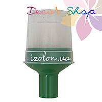 Комплект для изготовления декоративных цветов на трубу D20мм. Зеленый. ТМ Uniel