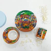 Детская посуда из стекла и керамики