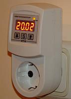 Таймер вкл./выкл. в корпусе переходника в розетку РВС-16/П1  (16А/3кВт) суточный
