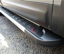 Подножки на Mazda BT50 (2006-2011) Мазда ВТ 50