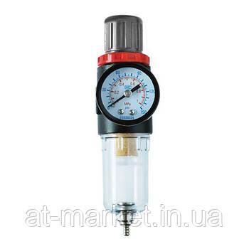 """Фильтр для очистки воздуха с редуктором 1/4"""" AIRKRAFT AFR2500"""