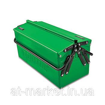Ящик для інструменту металевий 3 секції TOPTUL TBAC345A
