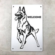 "Табличка ""Welcome"" 22х15 см"