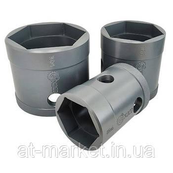 Головка ступичная грузовая усиленная (6-гранная) 140мм (ХЗСО) WHS6140