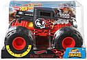 Машина Монстр трак Хот Вилс Бон Шейкер Hot Wheels Monster Trucks Bone Shaker, фото 4