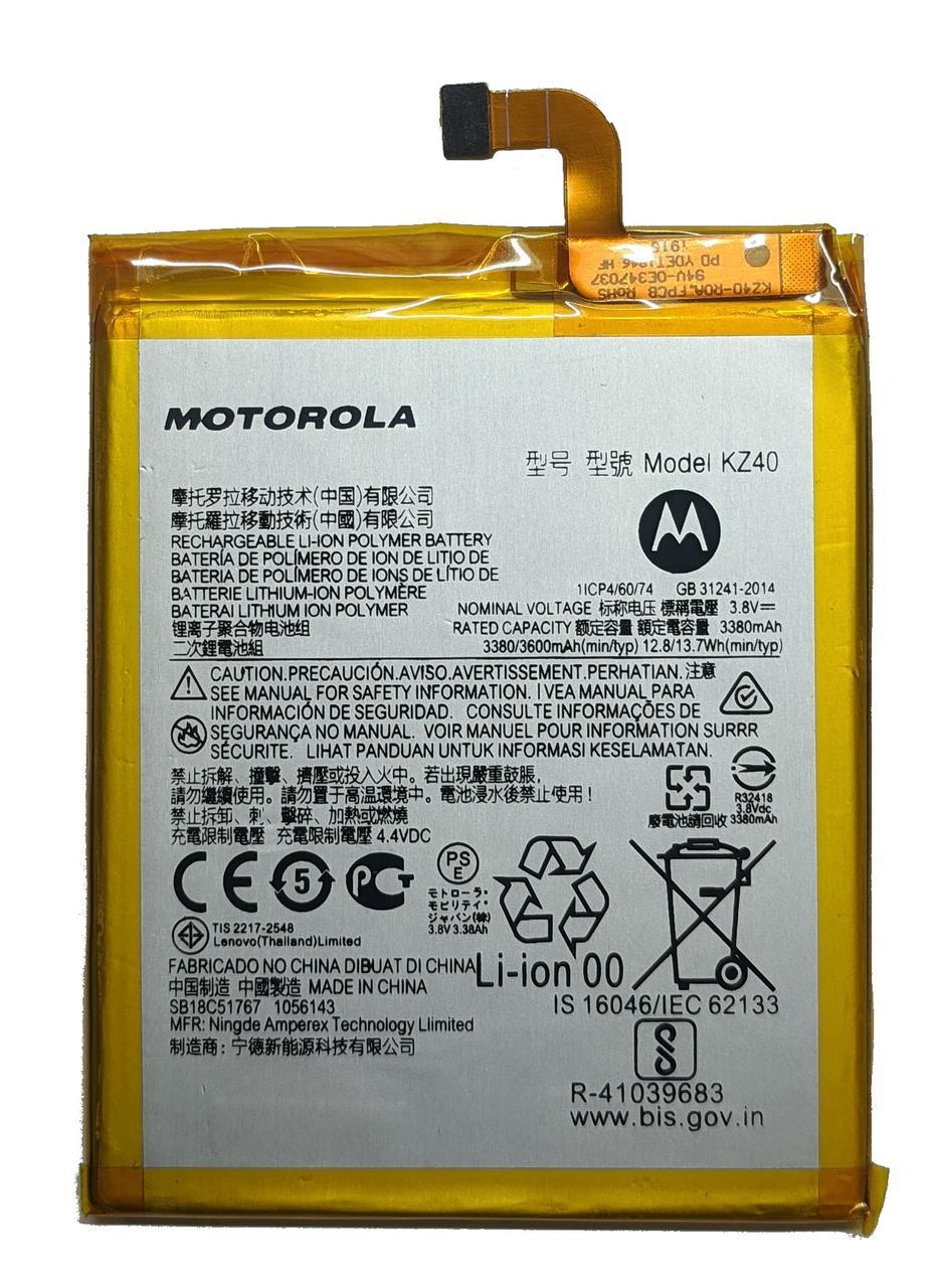 Аккумулятор Motorola KZ40 Moto Z4 XT1980 / Z4 Play Батарея