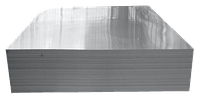Лист алюминиевый 10 мм марки АД0 (1050)