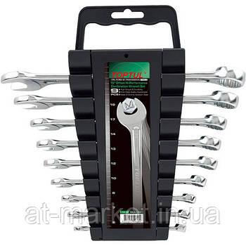 Набор рожково-накидных ключей TOPTUL 9 шт. 6-19 мм GAAC0901