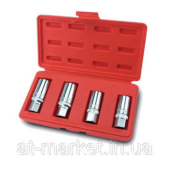 Набір шпильковертов (6,8,10,12 мм) TOPTUL GAAI0401