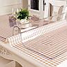 Скатерть мягкое стекло для стола и мебели Soft Glass (1.5х1.4м) толщина 0.4 мм Прозрачная, фото 3