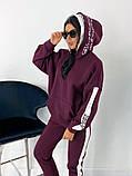 Теплый  спортивный костюм трехнить на флисе батник и штаны размер: 42-44, 46-48,50-52, фото 5