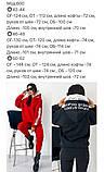 Теплый  спортивный костюм трехнить на флисе батник и штаны размер: 42-44, 46-48,50-52, фото 9