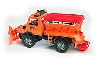 Игрушка - снегоуборочный автомобиль MB Unimog ТМ BRUDER, М1:16