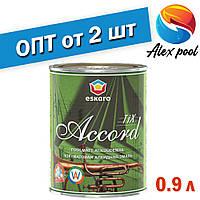 Eskaro Accord tix 30 TR 0,9 л - Алкідна тиксотропна емаль для внутрішніх і зовнішніх робіт