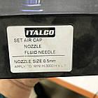 Дюза для краскопульта H-3003-MINI 0,5мм ITALCO NS-H-3003-MINI-0.5, фото 3