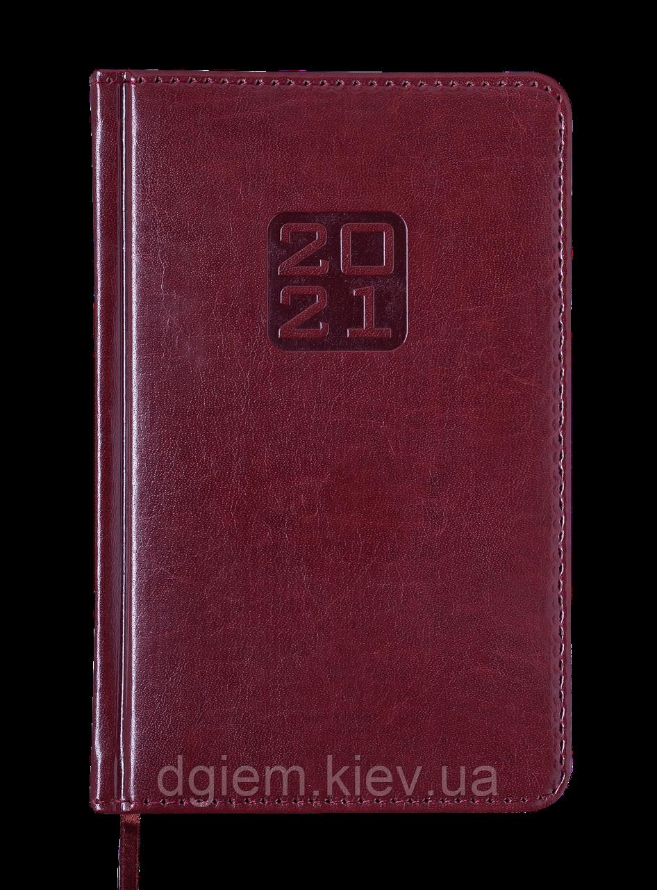 Ежедневник датированный 2021 BRAVO(Soft) A6