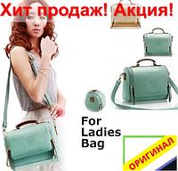 Винтажная Стильная женская сумка кожа PU маленькая через плечо 2020 модная мягкая тканевая популярная недорого