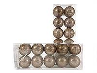 Гирлянда тайские шарики Brown Broc Cotton Balls 10led, диам 6см, длина 235см на батарейках АА