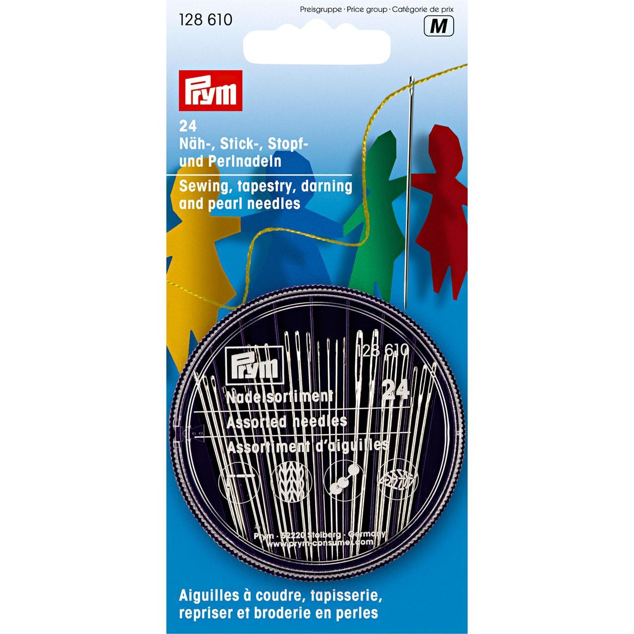 Иглы ручные для шитья Prym 128610 (24 шт.)
