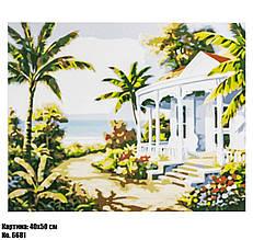Картина по номерам Тропики