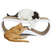Когтеточка (дряпка) лежанка для кошек AC-A (72х26х24см)
