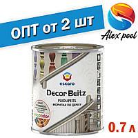 Eskaro Decor Beitz Морилка по дереву Бесцветная 0,7л - для обработки деревянной обшивки стен и потолков, двере