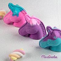 Бомбочка для ванни мрії єдинорога магічна фіолетова Martinelia (98210), фото 3