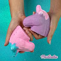 Бомбочка для ванны мечты единорога магическая фиолетовая (98210), фото 5
