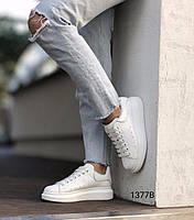 Кроссовки женские,белые зимові, фото 1