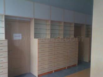 Шкафы с выдвижными ящиками