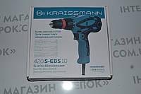 Шуруповерт мережевий Kraissmann 420 S-EBS 10, фото 1