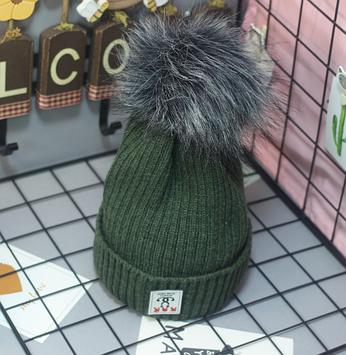 Шапка зимняя женская Шапка женская теплая зимняя Стильная шапка зима